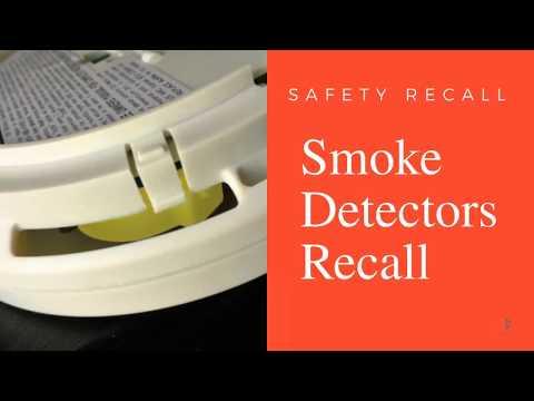 Smoke Alarm Recall From Kidde