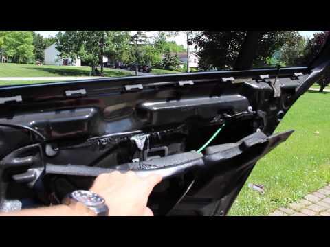 BMW E39 - Wet Rear Carpeting?  Vapor Barrier Seal DIY