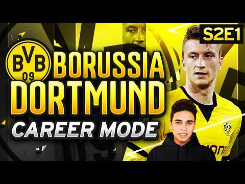 FIFA 16 Dortmund Career Mode - NEW SEASON! NEW SIGNINGS! - S2E1