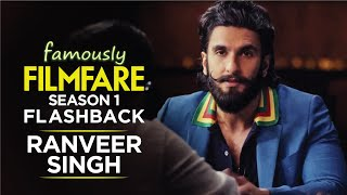 Ranveer Singh talks about love, movies and stardom | Ranveer Singh Interview | Famously Filmfare S1