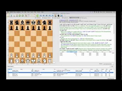 HIARCS Chess Explorer for Apple Mac - Quick tour