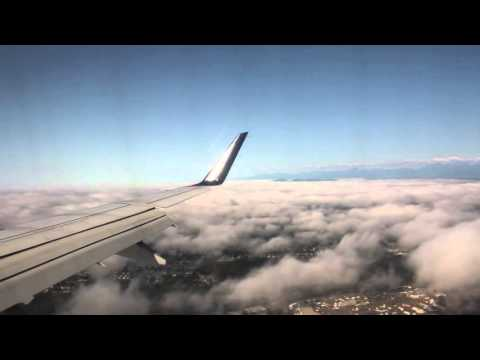 Long landing into SeaTac (Seattle and Tacoma) International Airport