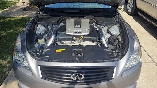 Cabin Air filter and Engine Air filter Replacement (G37) - PakVim