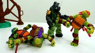 Download Ninja Kaplumbağalar oyunu. Erkek çocuk oyuncakları Video
