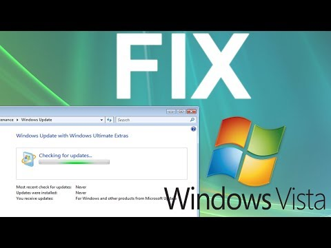 [Tutorial] FIX: Windows Update stuck on 'Checking for updates' in Windows Vista (WORKING 2017)