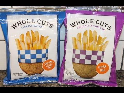 Calbee Whole Cuts: Lightly Salted and Sea Salt & Vinegar Review