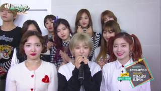 BTS ------------------TWICE's Knock knock  Spring Day Music Bank