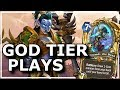 Hearthstone - Best of God Tier Plays