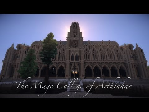 Minecraft Cinematic - Mage College of Arthinhar