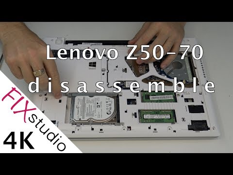 Lenovo Z50 - disassemble [4K]