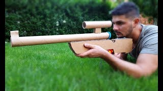 How to Make a Cardboard Sniper Rifle that Shoots