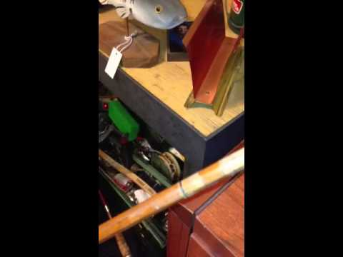 Heddon bamboo rod repair