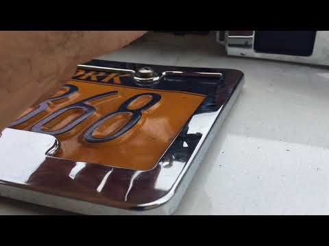 Toyota Avalon 2013-2018 Licence Plate light bulb replacement