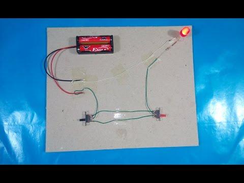 Circuit diagrams stairs simple | Test
