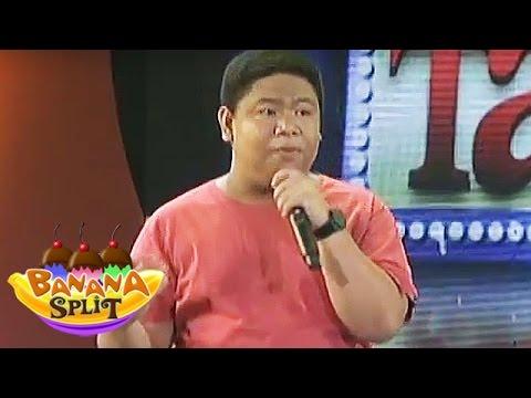 Banana Split:  Nonong Ballinan performs in
