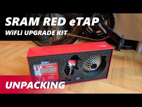 SRAM RED eTap WiFLi Upgrade Kit - Unboxing