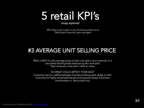 5 Retail KPI's