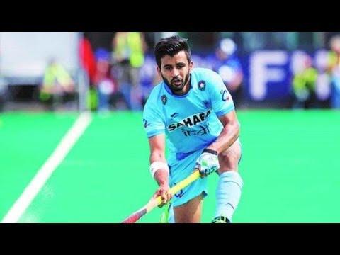 Manpreet Singh II Captain Indian Hockey Team II After Beating England II Amrinder Gidda II CWG2018
