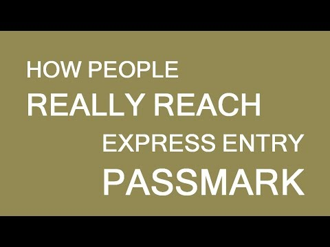 Examples of Successful Express Entry profiles. LP Group Canada