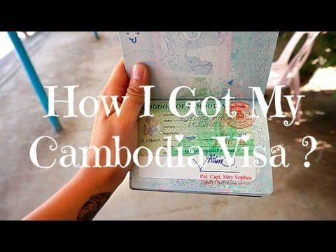 Bangkok to Siem Reap by bus (Boarder Crossing + Visa) [ Cambodia 2016 ]