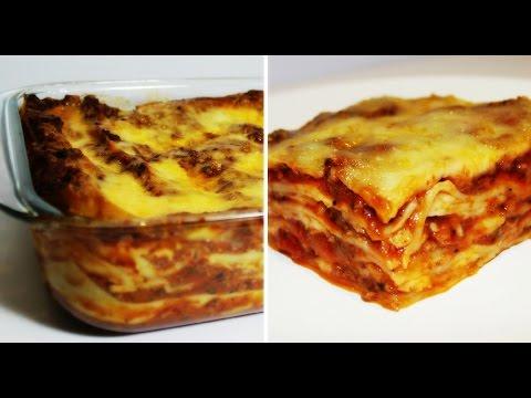 Cheesy & Meaty Lasagna