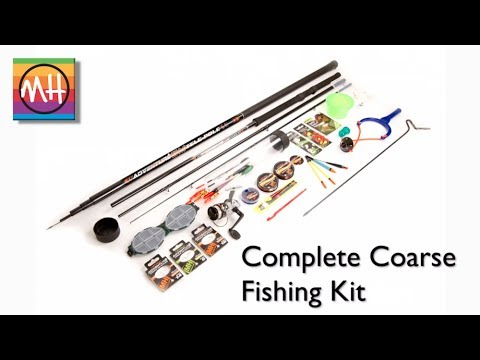 Amazing new Complete Coarse Fishing Kit from Matt Hayes