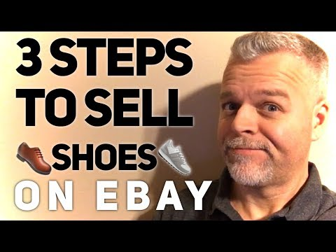 How to Sell Shoes on eBay in 3 STEPS ~ Make Money Reselling Used Shoes for PROFIT