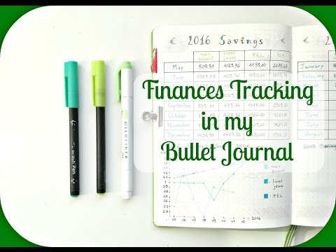 How to track your Finances  Bullet Journal Finances Trackers Ideas   The Boosted Journal