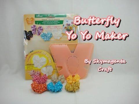 Butterfly Yo Yo Maker (by Clover) - HOW TO