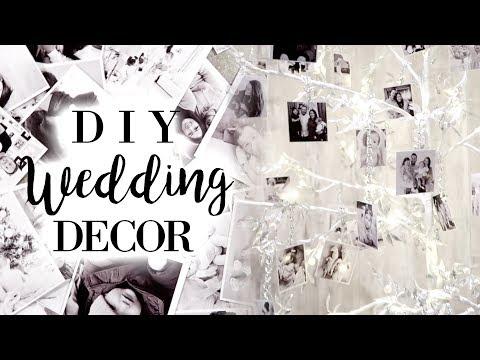 DIY FAMILY PHOTO TREE | WEDDING DIY/CENTREPIECE IDEAS