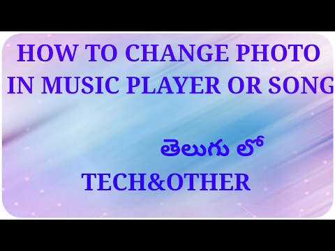 How to change music songs wallpaper