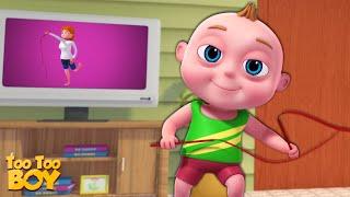 TooToo Boy - Gymnasium Episode   Cartoon Animation For Children  Videogyan Kids Shows   Funny Comedy