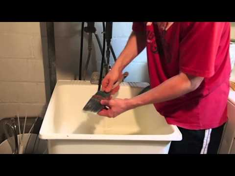 How To Clean A Paintbrush