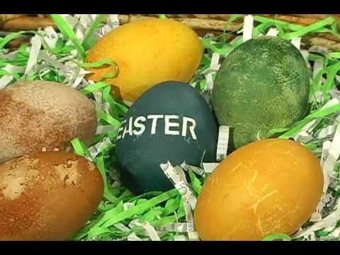 Easter Craft: All natural Easter egg dyes