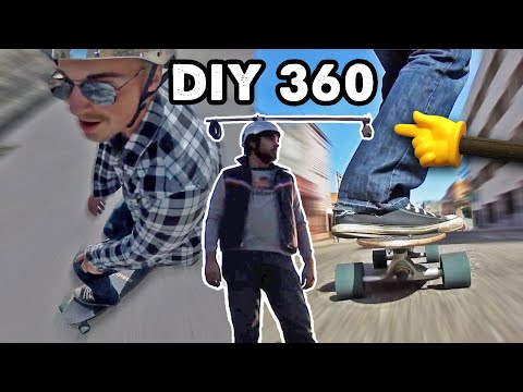 DIY 360˚ Rotating GoPro Camera Rig | Knoptop