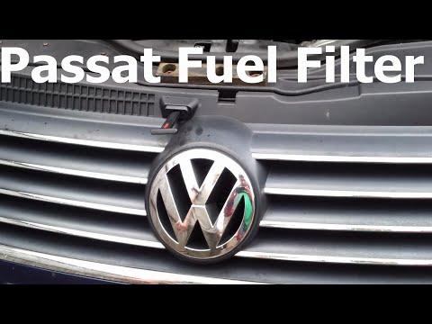 VW Volkswagen Passat 1.9 TDi B5 B5.5 Fuel Filter Replacement