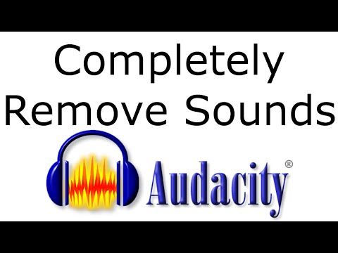Completely Remove Sound Clips with Audacity