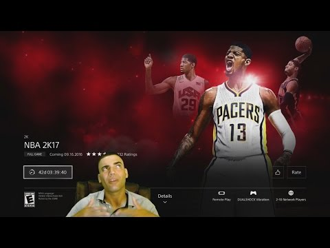 Nba 2k17 Pre Ordered Already! Lets get it MAN!! PS4 Paul George Theme for PREORDERING