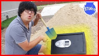 We Found an Abandoned Safe buried!!! What
