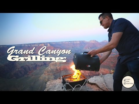 Grand Canyon Grilling: Making a Childhood Dream Come True