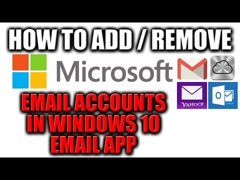 How to Setup Email App in Windows 10 for all Email Accounts - Gmail, Yahoo, Outlook, iCloud