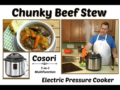 How to Make Chunky Beef Stew ~ Cosori Electric Pressure Cooker ~ Amy Learns to Cook