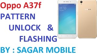 Oppo a37f pattern unlock 10000% esey with miracle box by