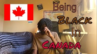 Being black in Canada