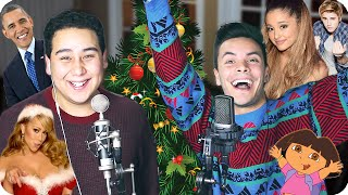 Download Mariah Carey - ″All I Want for Christmas Is You″ Impersonation Challenge COVER (Live One-Take) Video