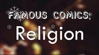 Intelligent Comedians on stupid Religions