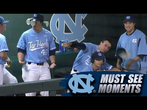 UNC Baseball Videobombs Hilarious In-Game Interview