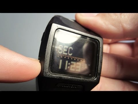 Nixon Watch The Lodown: Setting the Time & Tide Location
