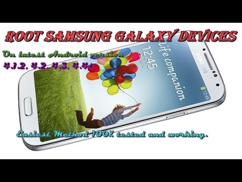 How to root Samsung Galaxy android 4.3, 4.2 and 4.3 easy method 100% working.