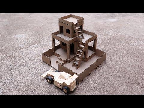 How to make Amazing Cardboard House